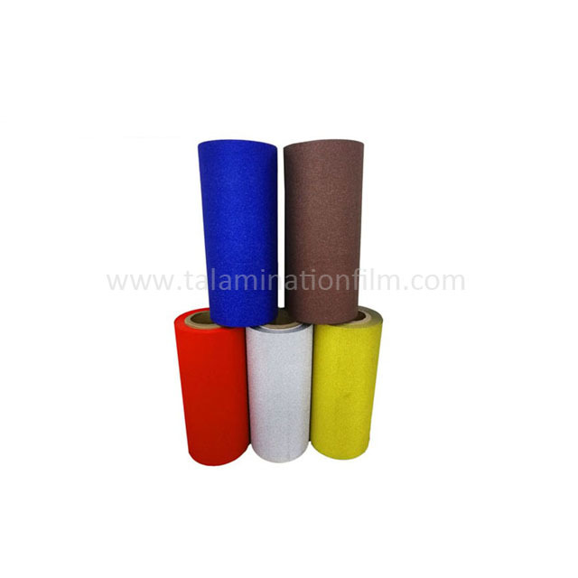 Seamless Transparent And  Colorful Glitter Sparkle Lamination Film