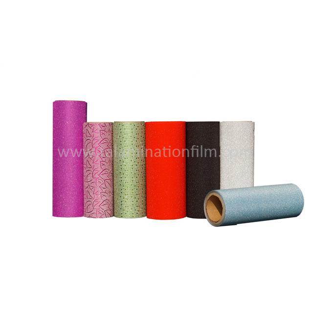 Colorful Iridescent Glitter Thermal Lamination Film