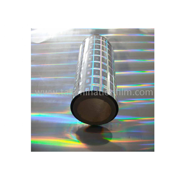 Custom Holographic BOPP Film With Moisture Proof Feature Factory From China