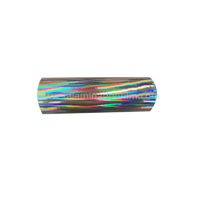 Rainbow Pattern BOPP Transparent Holographic Cold Laminationfilm