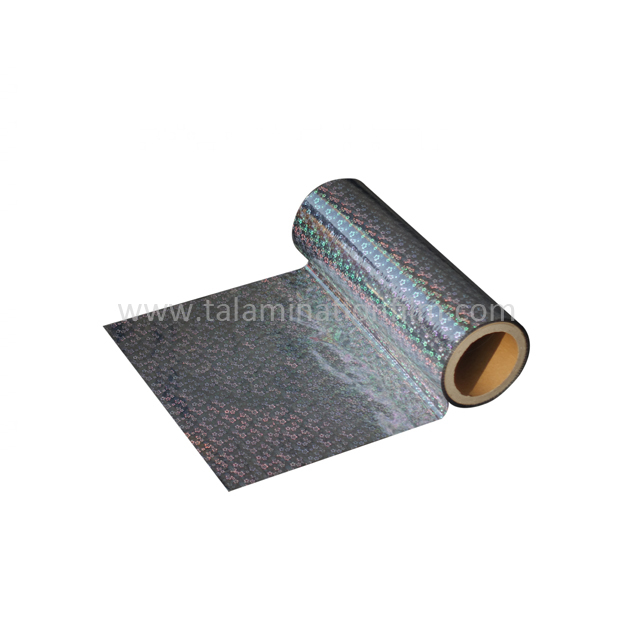 Metalized Holographic Foil Packaging Material Film