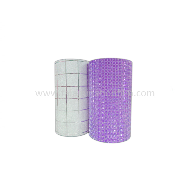 Glitter Laminating Film Self Adhesive Sticker Cold Lamination Film