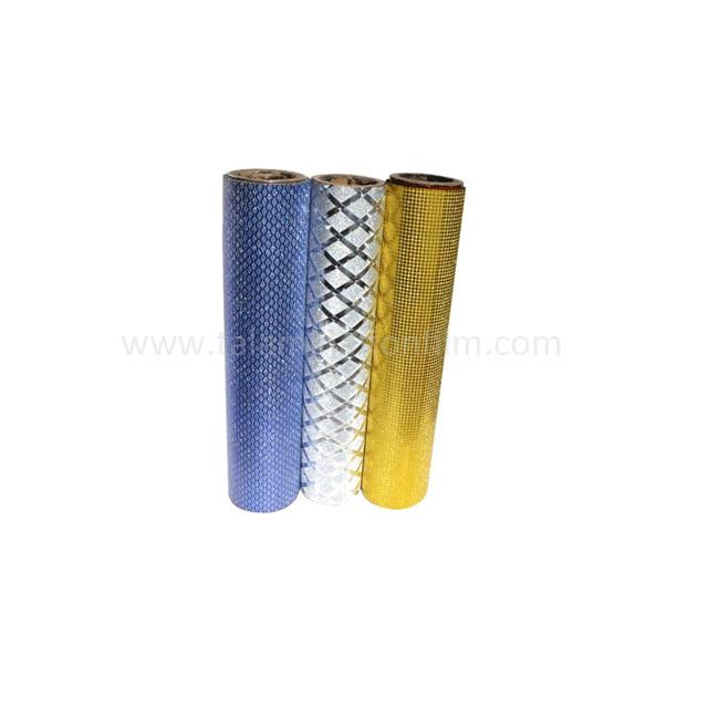Sparkle Lamination Vinyl PP Metallized Glitter Thermal Film