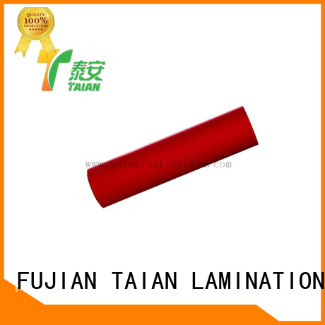 Taian Lamination Film soft touch paper manufacturer for calendars