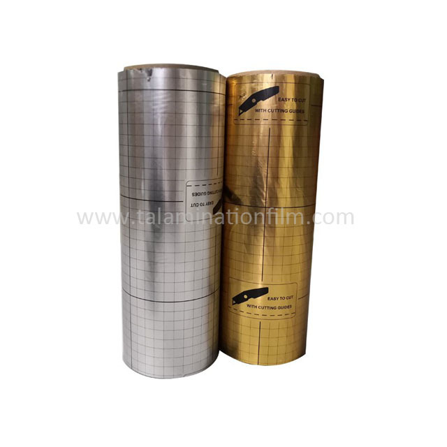 Printed thermal lamination film