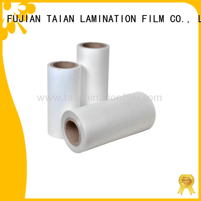Taian Lamination Film thermal lamination film on sale for boxes