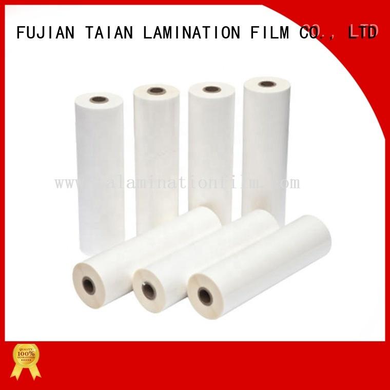 Taian Lamination Film bopp film on sale for cosmetics
