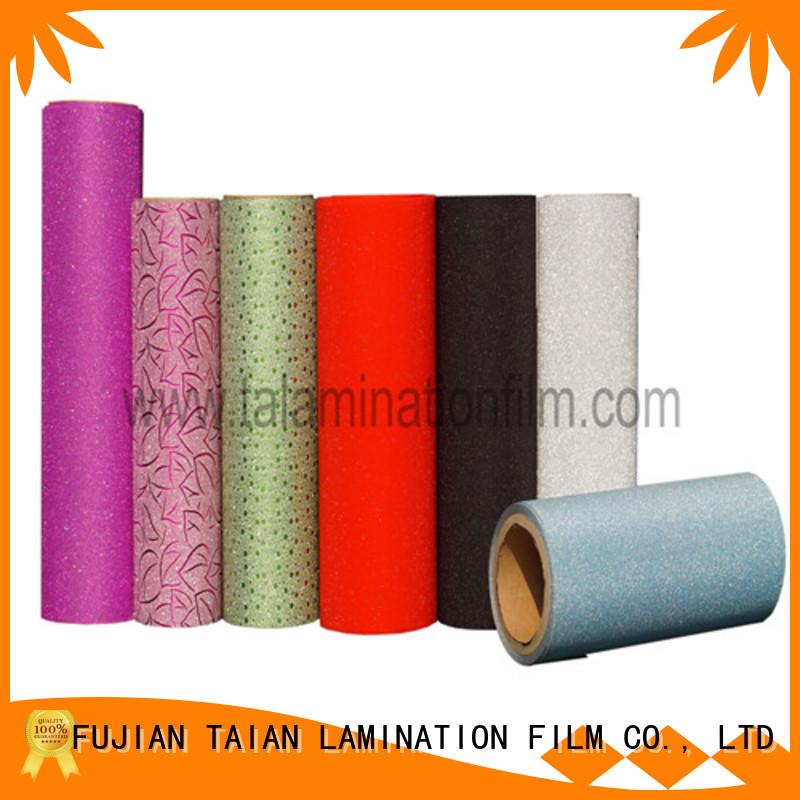 Taian Lamination Film popular foil printing paper manufacturer for medicine