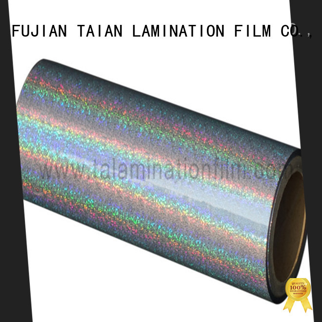 Taian Lamination Film hologram film factory price for advertisements