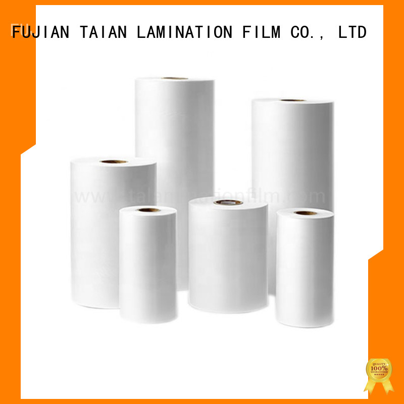 Taian Lamination Film film bopp factory price for advertisements
