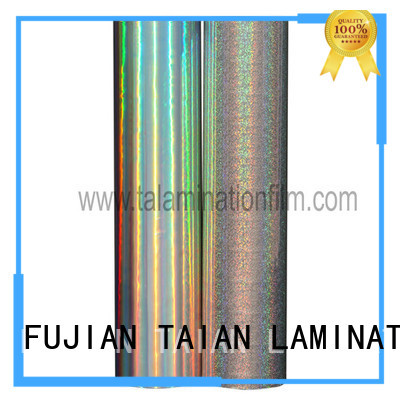 Taian Lamination Film holographic glitter factory price for digital printing