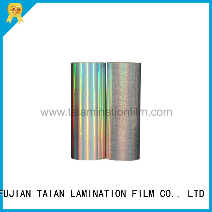 Taian Lamination Film metalized film inquire now for magazines