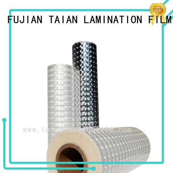 Taian Lamination Film laminating film wholesale for medicine