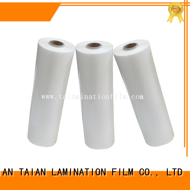 Taian Lamination Film thermal lamination film supplier for advertisements
