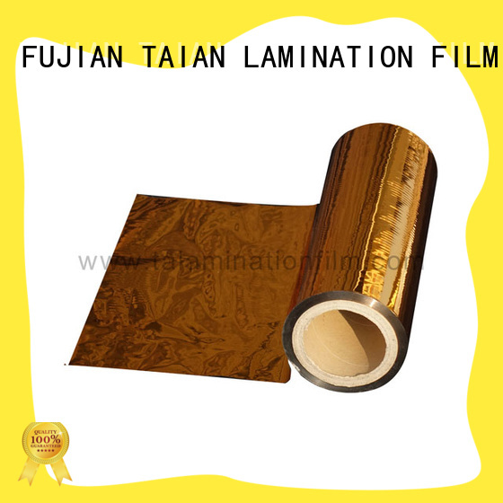 Taian Lamination Film metal film design for books