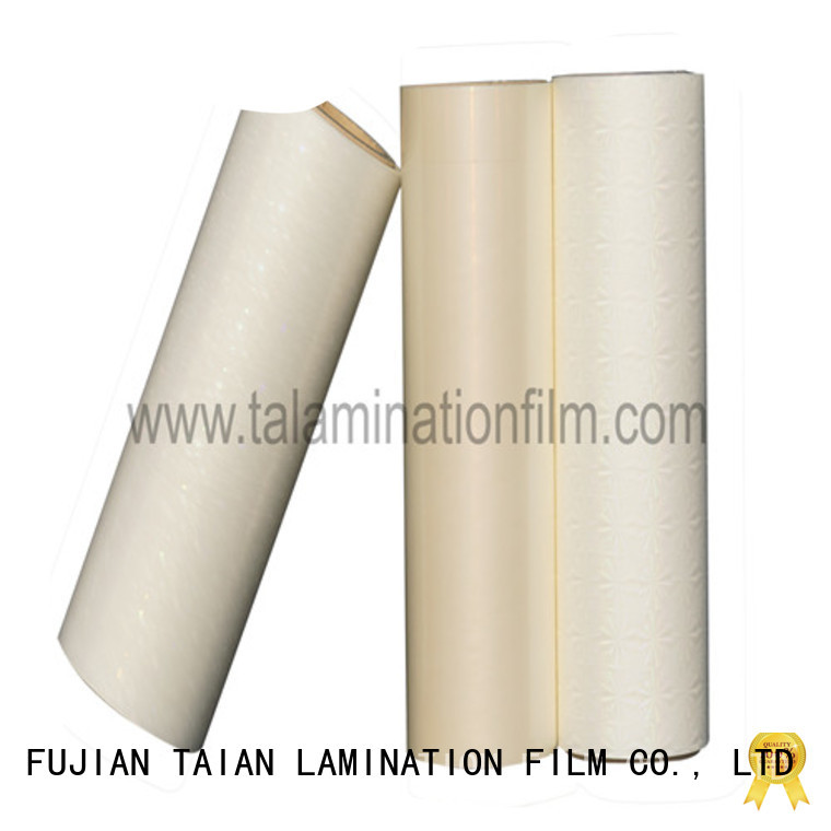 Taian Lamination Film cost-effective holographic foil personalized for digital printing