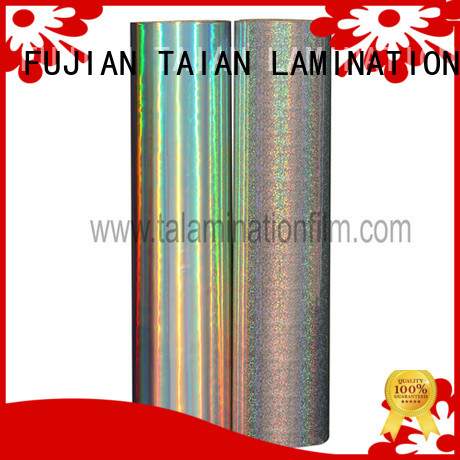 Taian Lamination Film top quality hologram film supplier for medicine