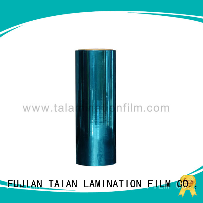 Taian Lamination Film metalized polyester inquire now for magazines