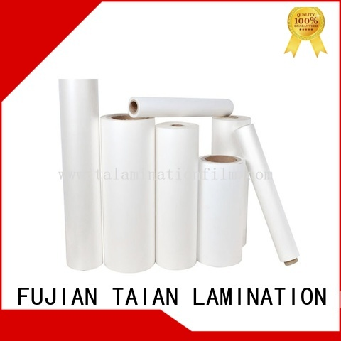 Taian Lamination Film thermal lamination film on sale for advertisements
