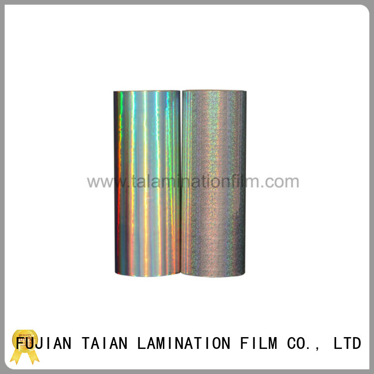 Taian Lamination Film holographic glitter personalized for cosmetics