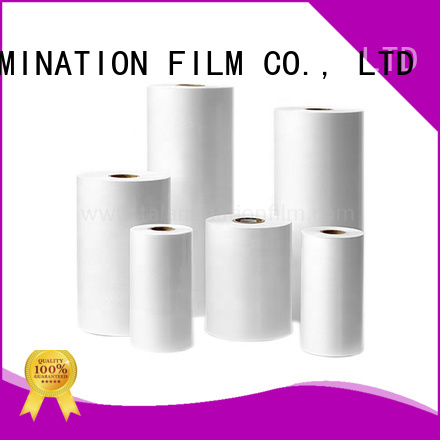 Taian Lamination Film transparent metalized bopp film factory price for advertisements