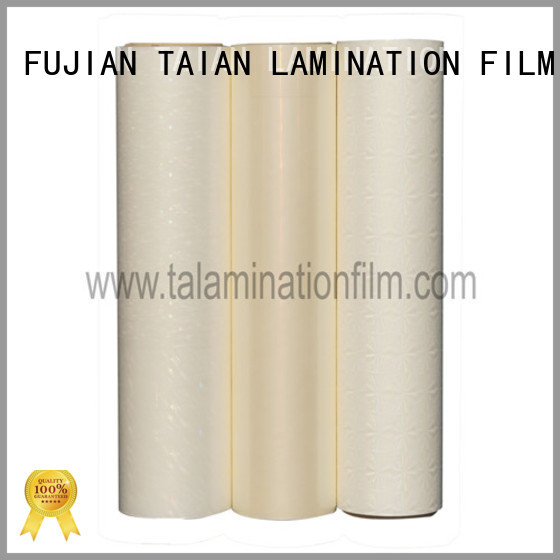 Taian Lamination Film cost-effective holographic film wholesale for advertisements