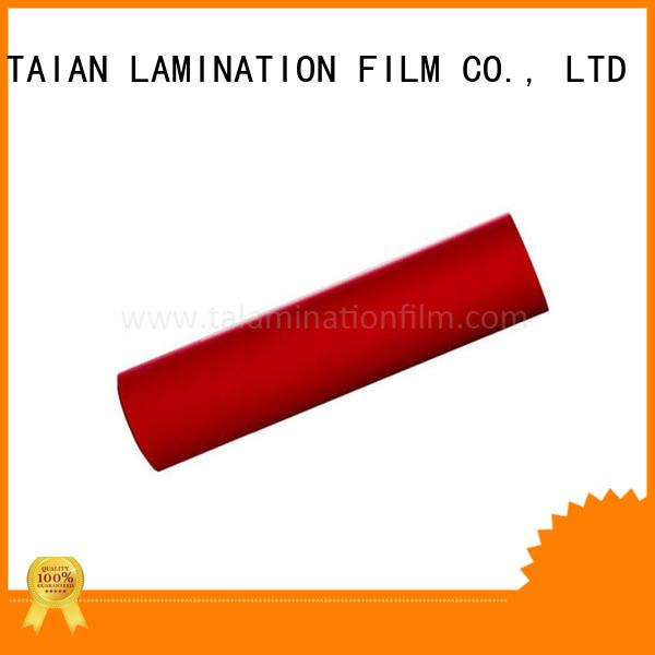 Taian Lamination Film velvet lamination manufacturer for magazines