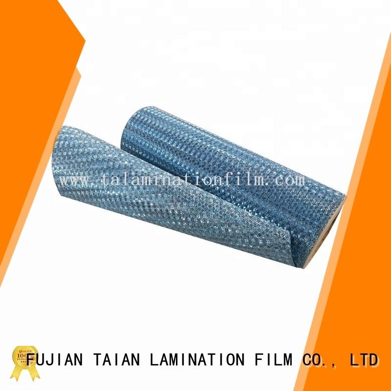 Taian Lamination Film popular glitter vinyl manufacturer for showing board