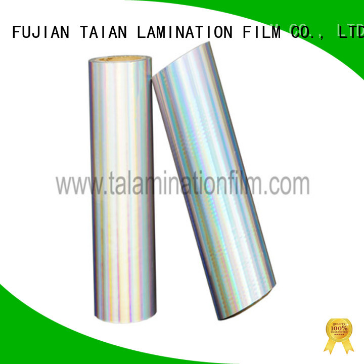 durable metalized polyester factory for books