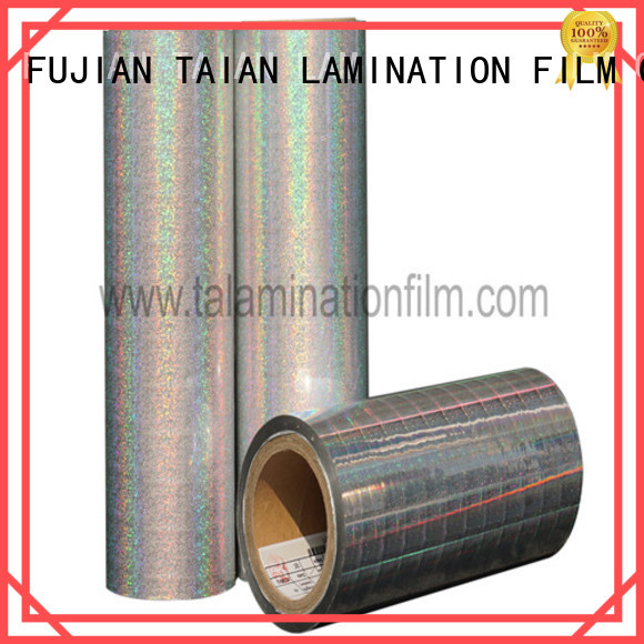Taian Lamination Film holographic window film wholesale for advertisements