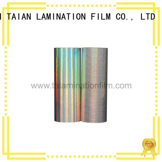 Taian Lamination Film practical metal film inquire now for books