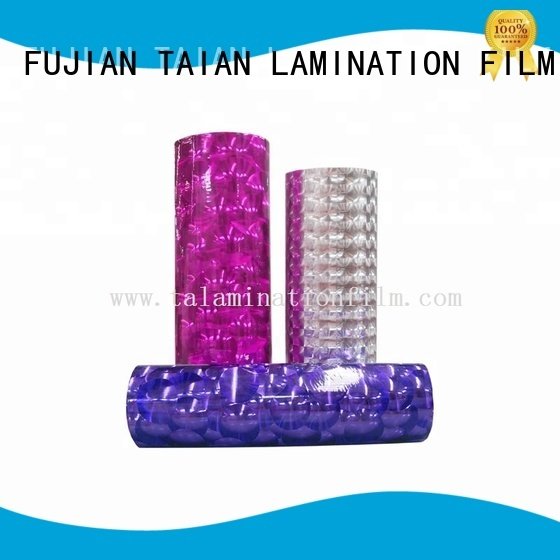 Taian Lamination Film cold laminating film supplier for medicine