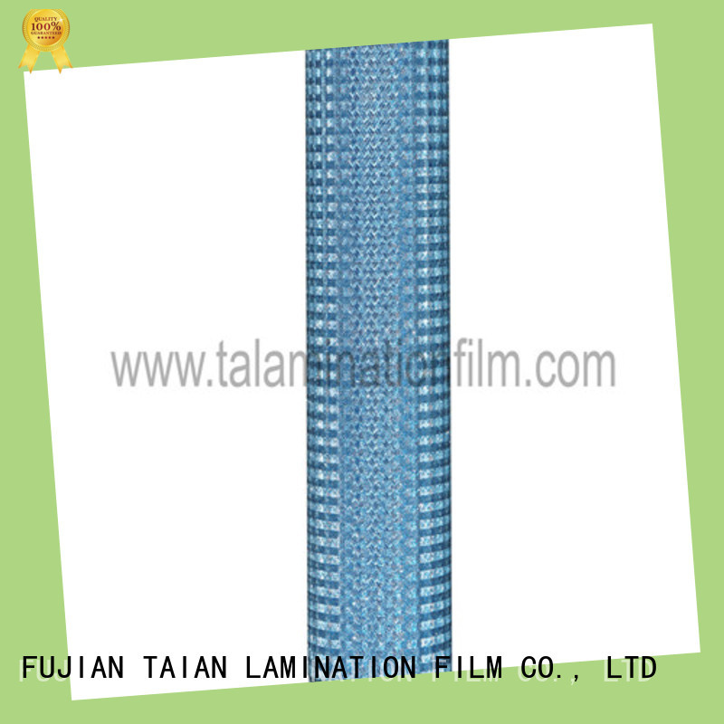 Taian Lamination Film popular lamination roll manufacturer for advertisements