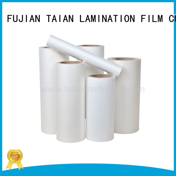 high quality bopp thermal lamination film supplier for advertisements