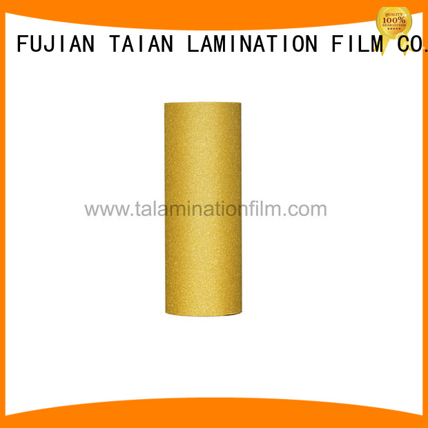 Taian Lamination Film glitter vinyl supplier for advertisements