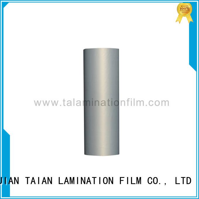Taian Lamination Film quality metallic foil design for maps