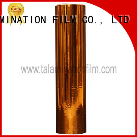 Taian Lamination Film durable metalized polyester with good price for books