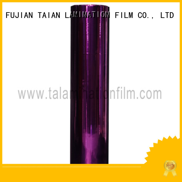 durable metallized film with good price for calendars