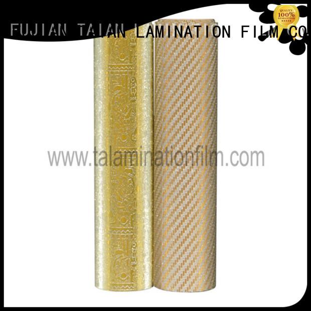 Taian Lamination Film foil laminator supplier for advertisements