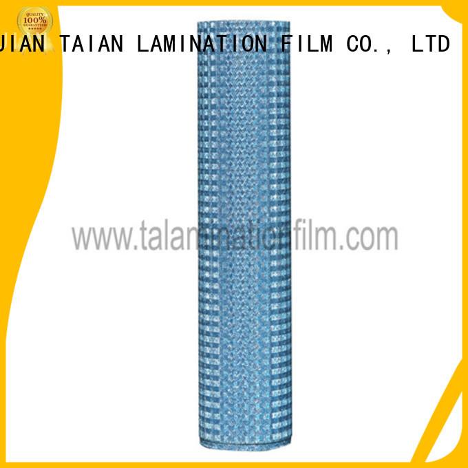 Taian Lamination Film popular lamination roll supplier for medicine