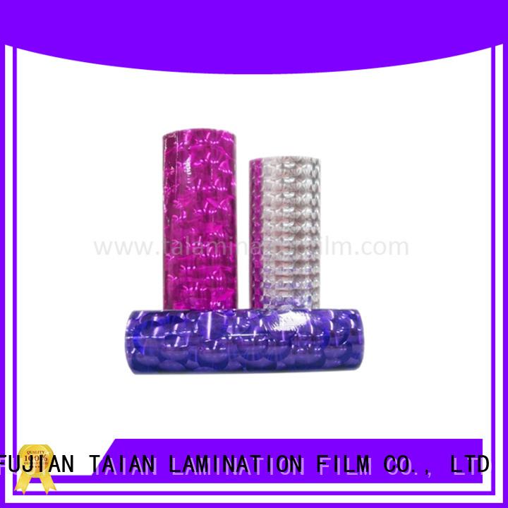 Taian Lamination Film excellent transfer foil supplier for medicine