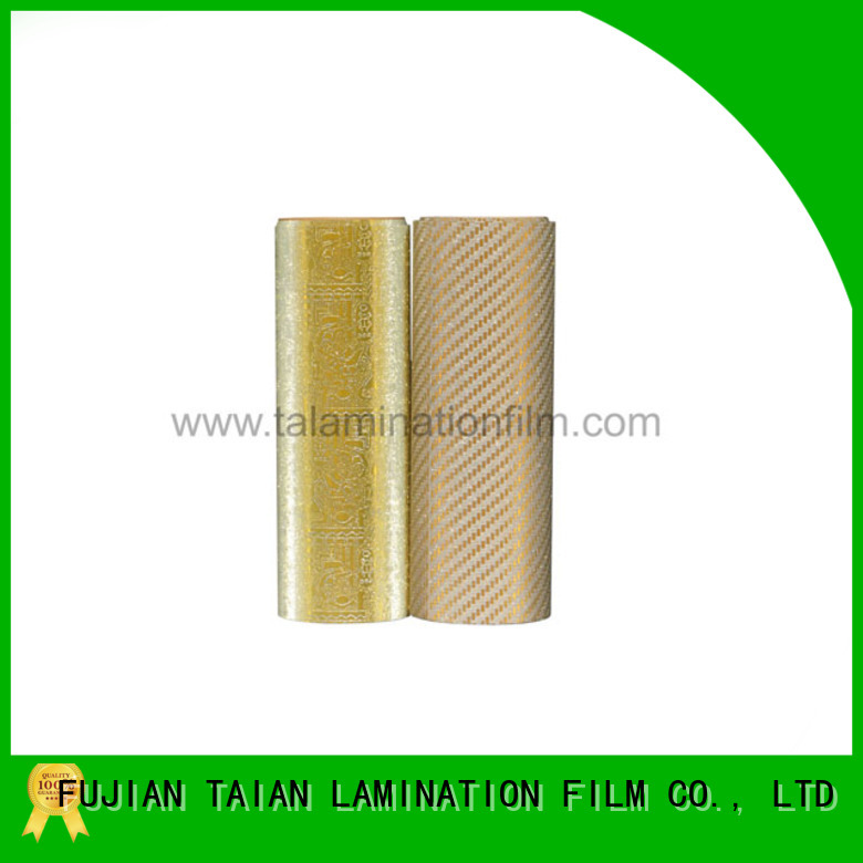 Taian Lamination Film lamination roll wholesale for boxes
