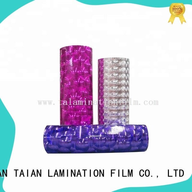 Taian Lamination Film quality decorative films supplier for digital printing