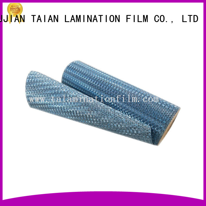 Taian Lamination Film efficient lamination roll on sale for medicine