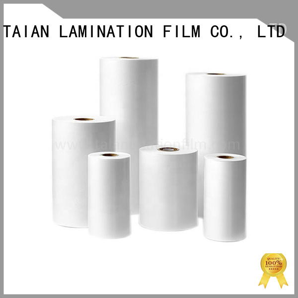 Taian Lamination Film laminating film roll directly sale for digital printing