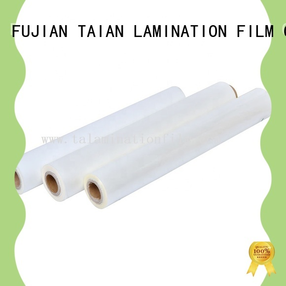 Taian Lamination Film professional bopp film on sale for cosmetics