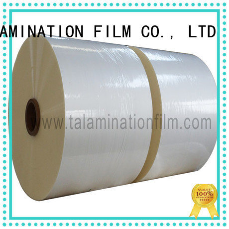 Taian Lamination Film professional thermal lamination film supplier for advertisements