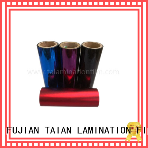 durable metalized film with good price for maps