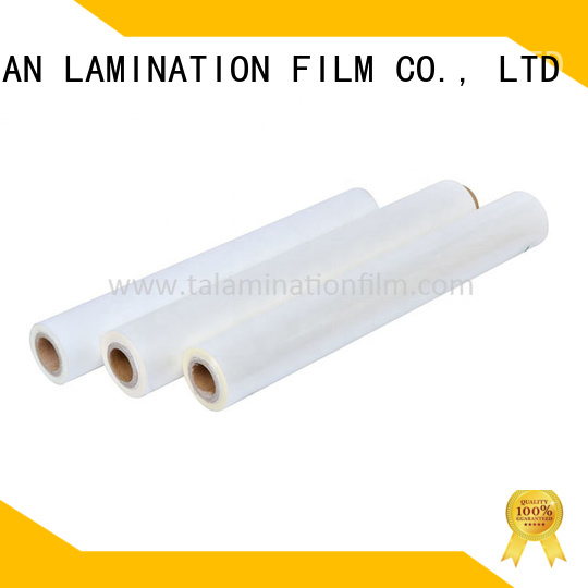 transparent bopp thermal lamination film factory price for cosmetics
