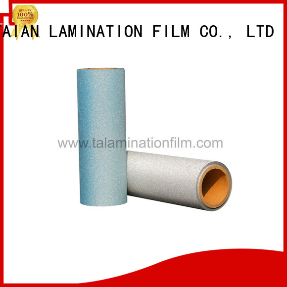Taian Lamination Film creative lamination roll on sale for advertisements